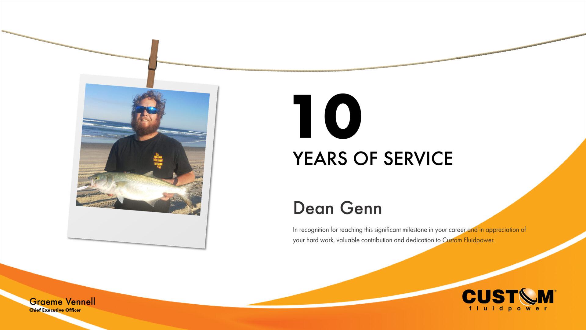 Custom Fliudpower Dean Genn